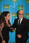 """Gloria Estefan honored with husband Emilio - 2016 Rosie O'Donnell Theatre Kids """"We're Rehearsing for Life"""" attended by 2 of Rosie's kids Parker and Blake at the Marriott Marquis New York on September 28. 2016 in New York City. It honored Gloria Estefan accompanied by her husband Emilio for On Your Feet presented at the Marriott Marquis and the gala was at the Marriott ALSO. (Photo by Sue Coflin/Max Photos)"""
