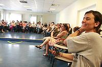SAO PAULO, SP, 17 SETEMBRO 2012 - ELEICOES SP - SONINHA FRANCINE - A candidata a prefeitura de Sao Paulo, pelo PPS Soninha Francine durante visita ao Projeto Quixote no bairro da Vila Mariana regiao sul da capital paulista, nesta segunda-feira, 17. (FOTO: RODRIGO PIANNO / BRAZIL PHOTO PRESS).