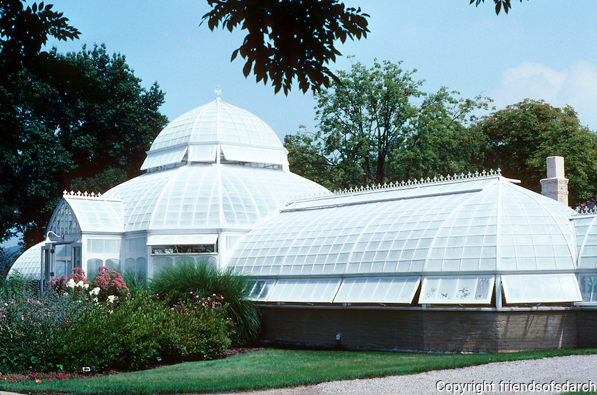 Pittsburgh: The Frick Mansion Greenhouse. Photo 2001.