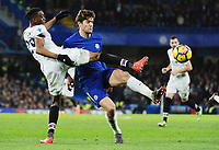 Marcos Alonso of Chelsea and Aaron Wan-Bissaka of Palace <br /> Londra 10-03-2018 Premier League <br /> Chelsea - Crystal Palace<br /> Foto PHC Images / Panoramic / Insidefoto <br /> ITALY ONLY