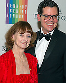 Suzanne Farrell and guest arrive for the formal Artist's Dinner honoring the recipients of the 2014 Kennedy Center Honors hosted by United States Secretary of State John F. Kerry at the U.S. Department of State in Washington, D.C. on Saturday, December 6, 2014. The 2014 honorees are: singer Al Green, actor and filmmaker Tom Hanks, ballerina Patricia McBride, singer-songwriter Sting, and comedienne Lily Tomlin.<br /> Credit: Ron Sachs / Pool via CNP