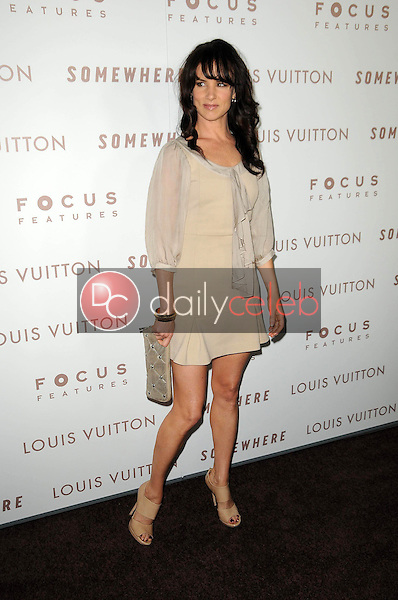"""Juliette Lewis<br /> at the Premiere Of Focus Features' """"Somewhere,"""" Arclight Theater, Hollywod, CA. 12-07-10<br /> David Edwards/DailyCeleb.com 818-249-4998"""