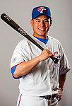 Lin, Han of Team Chinese Taipei poses during WBC Photo Day on February 25, 2013 in Taichung, Taiwan. Photo by Victor Fraile / The Power of Sport Images