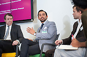 Nasir Zubairi, panel discussion. Disruptive Technology Financial Services conference, Level39, Canary Wharf, London.