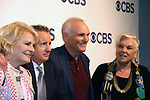 Candace Bergen, Grant Shaud, Joe Regalbuto, Tyne Daly - Murphy Brown - CBS Upfront 2018 on May 17, 2018 at the Plaza Hotel, New York City, New York with new Prime Time 2018-19 shows (Photo by Sue Coflin/Max Photo)