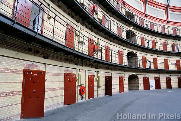 Nederland  Breda 2016. De Koepel, ook wel bekend als De Boschpoort gevangenis werd in 1886 opgeleverd. In 2017 krijgt de Koepel een nieuwe bestemming in de vorm van een Futuredome.  Foto Berlinda van Dam / Hollandse Hoogte