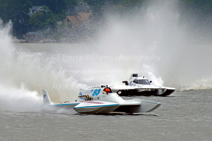 "Mark Weber, GNH-83 ""Blue Mule II, Scott Liddycoat, GNH-1  (Grand National Hydroplane(s)"