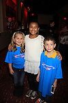 "One Life To Live Patrick Gibbons ""Sam Manning"" poses with Stephanie Schmal ""Bree"" and Saoirse Scott ""Jamie"" at 9th Annual Daytime Stars & Strikes Charity Event to benefit The American Cancer Society on October 7, 2012 at Bowlmor Lanes Times Square, New York City, New York.  (Photo by Sue Coflin/Max Photos)"
