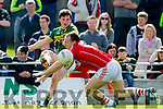 Paul Murphy Kerry in action against Brian O Driscoll Cork in the National Football league in Austin Stack Park, Tralee on Sunday.
