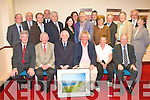 RETIREMENT: Judge Harvey Kenny (seated 3rd left at his retirement function at the Grand hotel on Thursday. WAITING ON NAMES.