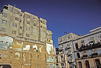 Old Havana Cuba Apartment Buildings Great Shot, Cuba, Republic of Cuba,