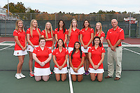 UHart Tennis Team Photo 10/22/2105