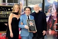 LOS ANGELES - JAN 22:  Helen Hunt, Gustavo Dudamel, John Williams at the Gustavo Dudamel Star Ceremony on the Hollywood Walk of Fame on January 22, 2019 in Los Angeles, CA