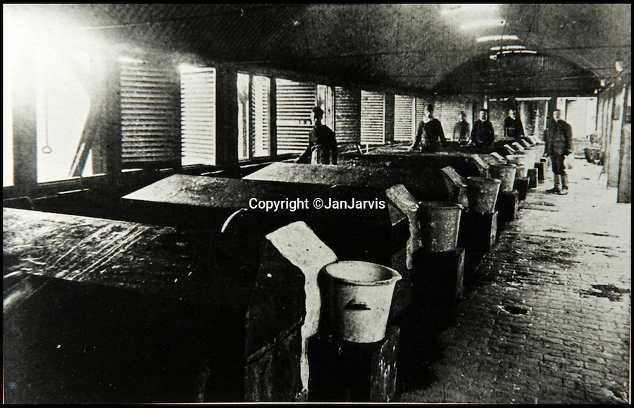BNPS.co.uk (01202 558833)<br /> Pic: JanJarvis/BNPS<br /> <br /> The nitrating tanks of the gunpowder factory.<br /> <br /> A lot of bang for your buck...<br /> <br /> A former royal hunting lodge that went on to become a world-renowned gunpowder factory has exploded onto the property market.<br /> <br /> Eyeworth Lodge, in the picturesque surroundings of Fritham in the New Forest, was the perfect isolated place for the risky business that saw lots of men injured or even killed, but it is now a stunning country home for anyone who wants to escape to the country.<br /> <br /> The seven-bedroom home, which has eight acres of land, is on the market with Strutt & Parker for £4million.