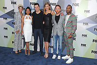 NEW YORK, NY - MAY 14: Jessica Szohr, Penny Johnson Jerald, Seth MacFarlane, Adrianne Palicki, Scott Grimes, and J. Lee at the 2018 Fox Network Upfront at Wollman Rink, Central Park on May 14, 2018 in New York City.  <br /> CAP/MPI/PAL<br /> &copy;PAL/MPI/Capital Pictures