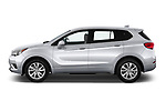 Car driver side profile view of a 2020 Buick Envision Preferred FWD 5 Door SUV