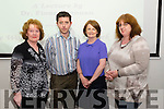 Dr. Fiona Brennan (3rd from the left) in association with Kerry Women Writer's Network giving a lecture in the Kerry Library, Killarney last Thursday evening.<br /> L-R Mary Murphy (Kerry Women Writer's Network), Eamon Brown (Kerry Library), Dr. Fiona Brennan (author and historian from UCC) and Margaret Sheehan (Kerry Women Writer's Network).