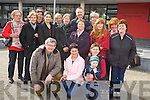 Pictured at the cross roads dancing session in Killorglin on Sunday as part of Heritage Weekend festivities were Donal Mangan, Deloras Doyle, Niamh Doonan, Cormac Sheehan, Doreen Shortt, Noreen O'Sullivan, Patricia Foley, jane Brennan, Eileen O'Hagan, Jane Brown, Eddie Prendergast, Maureen O'Connor, Karin Bohan, Mary Walsh, Kathleen O'Sullivan and Bridget Carey.