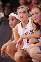 STANFORD, CA - DECEMBER 13:  Rosalyn Gold-Onwude and Joslyn Tinklel of the Stanford Cardinal during Stanford's 96-60 win over DePaul on December 13, 2009 at Maples Pavilion in Stanford, California.