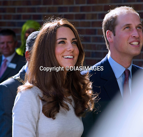 """PRINCE WILLIAM AND CATHERINE, DUCHESS OF CAMBRIDGE.opened the new Oak Centre for Children and Young People at The Royal Marsden Hospital, Sutton, Surrey..The Duke of Cambridge is President of The Royal Marsden NHS Foundation Trust and the Duchess The Duke and Duchess also took a tour of the new children's unit..The Royal Marsden is a world-leading cancer centre specialising in cancer diagnosis, treatment, research and education_29/09/2011.Mandatory Credit Photo: ©DIASIMAGES..**ALL FEES PAYABLE TO: """"NEWSPIX INTERNATIONAL""""**..IMMEDIATE CONFIRMATION OF USAGE REQUIRED:.DiasImages, 31a Chinnery Hill, Bishop's Stortford, ENGLAND CM23 3PS.Tel:+441279 324672  ; Fax: +441279656877.Mobile:  07775681153.e-mail: info@newspixinternational.co.uk"""