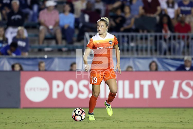 Cary, North Carolina  - Saturday September 09, 2017: Kristie Mewis during a regular season National Women's Soccer League (NWSL) match between the North Carolina Courage and the Houston Dash at Sahlen's Stadium at WakeMed Soccer Park. The Courage won the game 1-0.