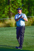 J.B. Holmes (USA) watches his approach shot on 10 during round 2 of the Shell Houston Open, Golf Club of Houston, Houston, Texas, USA. 3/31/2017.<br /> Picture: Golffile | Ken Murray<br /> <br /> <br /> All photo usage must carry mandatory copyright credit (&copy; Golffile | Ken Murray)