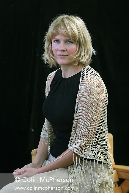 Star Norwegian presenter and writer Asne Seierstad, is pictured at the Edinburgh International Book Festival prior to talking about her books on Afghanistan and Iraq. The Edinburgh International Book Festival is the world's largest literary event, with over 500 authors from across the world participating each year and ran from 13-29 August. Edinburgh was named the world's first UNESCO City of Literature.