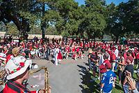 Stanford, Ca. - September 30, 2017: The Stanford Cardinal vs the Arizona State Sun Devils in Stanford Stadium. Final score Stanford Cardinal 34, Arizona State Sun Devils 24.