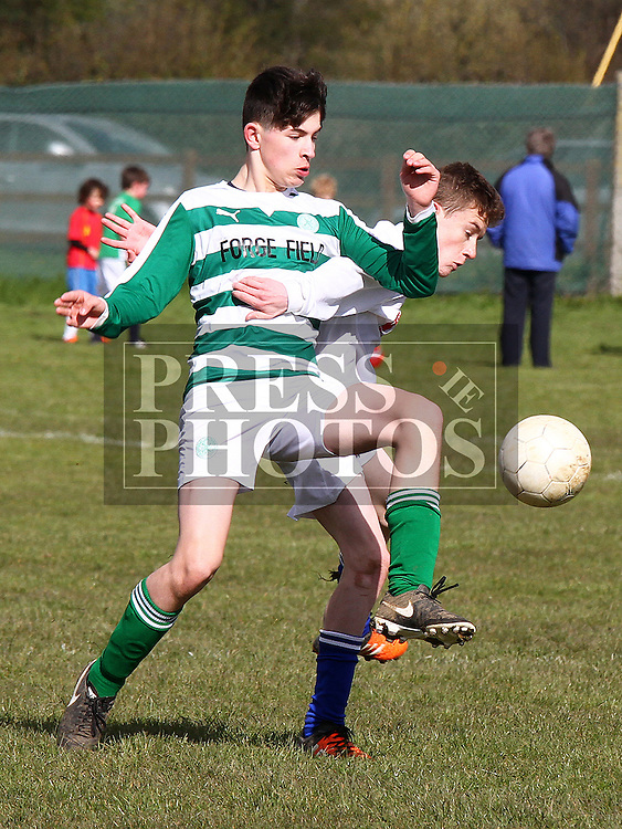 Termonfeckin Evan Cummiskey Dromin Conor Matthews. Photo:Shane Maguire/pressphotos.ie