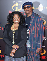 05 June 2018 - Hollywood, California - LaTanya Richardson, Samuel L. Jackson. Disney Pixar's &quot;Incredibles 2&quot; Los Angeles Premiere held at El Capitan Theatre. <br /> CAP/ADM/BT<br /> &copy;BT/ADM/Capital Pictures