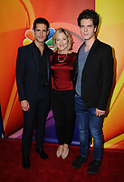 03 August  2017 - Beverly Hills, California - Gus Halper, Edie Falco,  Miles Gaston Villanueva.  2017 NBC Summer TCA Press Tour  held at The Beverly Hilton Hotel - Radford in Studio City. Photo Credit: Birdie Thompson/AdMedia