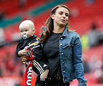Coleen Rooney with baby Kit during the English Premier League match at the Old Trafford Stadium, Manchester. Picture date: May 21st 2017. Pic credit should read: Simon Bellis/Sportimage