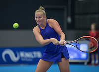 Rotterdam, Netherlands, December 14, 2016, Topsportcentrum, Lotto NK Tennis,   Kelly Versteeg (NED)<br /> Photo: Tennisimages/Henk Koster