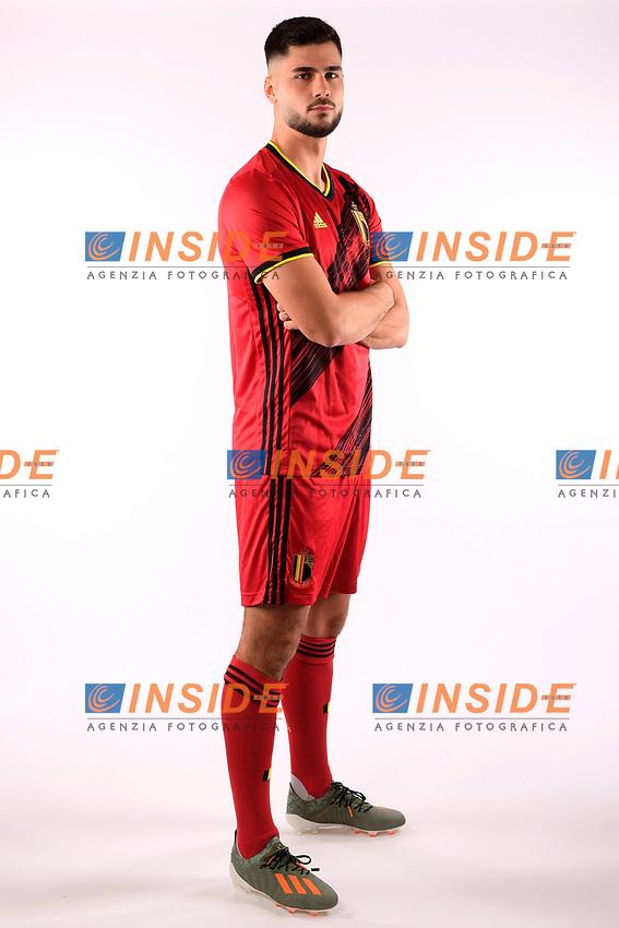 Elias Cobbaut defender of Belgium  <br /> Tubize 12/11/2019 <br /> Calcio presentazione della nuova maglia della Nazionale del Belgio <br /> Photo De Voecht  Kalut/Photonews/Panoramic/insidefoto<br /> ITALY ONLY