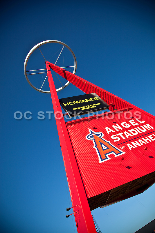 The Big A at Angel Stadium of Anaheim