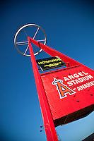 The Big A at Angel Stadium of Anaheim