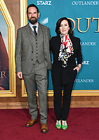 "13 February 2020 - Los Angeles, California - Duncan Lacroix, Maria Doyle Kennedy. ""Outlander"" Season 5 Los Angeles Premiere held at the Hollywood Palladium. Photo Credit: Birdie Thompson/AdMedia"