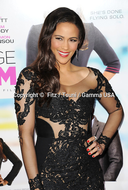 Paula Patton arriving at the Baggage Claim Premiere at the Regal Theatre In Los Angeles.