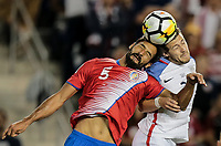 Harrison, N.J. - Friday September 01, 2017:   Celso Borges, Paul Arriola during a 2017 FIFA World Cup Qualifying (WCQ) round match between the men's national teams of the United States (USA) and Costa Rica (CRC) at Red Bull Arena.