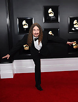 """Weird Al"" Yankovic arrives at the 61st annual Grammy Awards at the Staples Center on Sunday, Feb. 10, 2019, in Los Angeles. (Photo by Jordan Strauss/Invision/AP)"