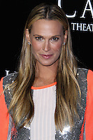 "HOLLYWOOD, CA - OCTOBER 07: Model/Actress Molly Sims arrives at the Premiere Of Metro-Goldwyn-Mayer Pictures & Screen Gems' ""Carrie"" held at ArcLight Cinemas on October 7, 2013 in Hollywood, California. (Photo by Xavier Collin/Celebrity Monitor)"