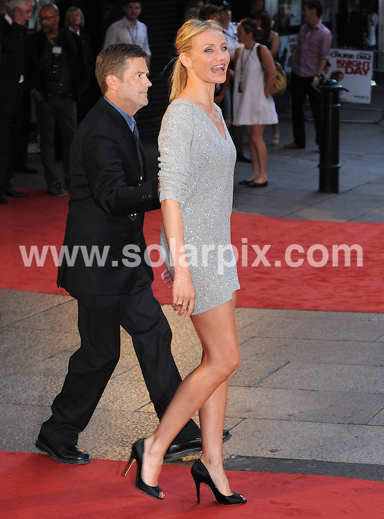 **ALL ROUND PICTURES FROM SOLARPIX.COM**.**WORLDWIDE SYNDICATION RIGHTS**.UK Premiere of Knight and Day. Held at the Odeon, Leicester Square, London, UK. 22 July 2010..This pic: Cameron Diaz..JOB REF: 11740 SSD     DATE: 22_07_2010.**MUST CREDIT SOLARPIX.COM OR DOUBLE FEE WILL BE CHARGED**.**MUST NOTIFY SOLARPIX OF ONLINE USAGE**.**CALL US ON: +34 952 811 768 or LOW RATE FROM UK 0844 617 7637**