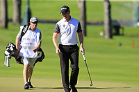 Richard McEvoy (ENG) on the 17th green during Friday's Round 2 of the 2018 Turkish Airlines Open hosted by Regnum Carya Golf &amp; Spa Resort, Antalya, Turkey. 2nd November 2018.<br /> Picture: Eoin Clarke | Golffile<br /> <br /> <br /> All photos usage must carry mandatory copyright credit (&copy; Golffile | Eoin Clarke)