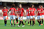 「/Kozue Ando (Reds Ladies), ヲ ャ シケ/Urawa Reds Ladies Team Group, <br /> JUNE 17, 2017 - Football / Soccer : <br /> Plenus Nadeshiko League Cup 2017 Division 1 <br /> match between Urawa Reds Ladies 0-0 Vegalta Sendai Ladies <br /> at Saitama Urawa Komaba Stadium in Saitama, Japan. <br /> (Photo by MATSUO.K/AFLO SPORT)