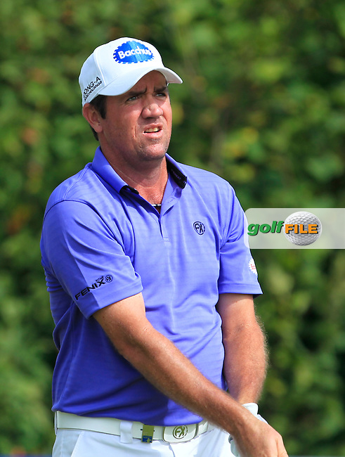 Scott Hend (AUS) on the 6th tee during Round 4 of the 2016 KLM Open at the Dutch Golf Club at Spijk in The Netherlands on  Sunday 11/09/16.<br /> Picture: Thos Caffrey | Golffile