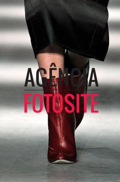 Nova Iorque, EUA &ndash; 02/2014 - Desfile de Wes Gordon durante a Semana de moda de Nova Iorque - Inverno 2014. <br /> Foto: FOTOSITE
