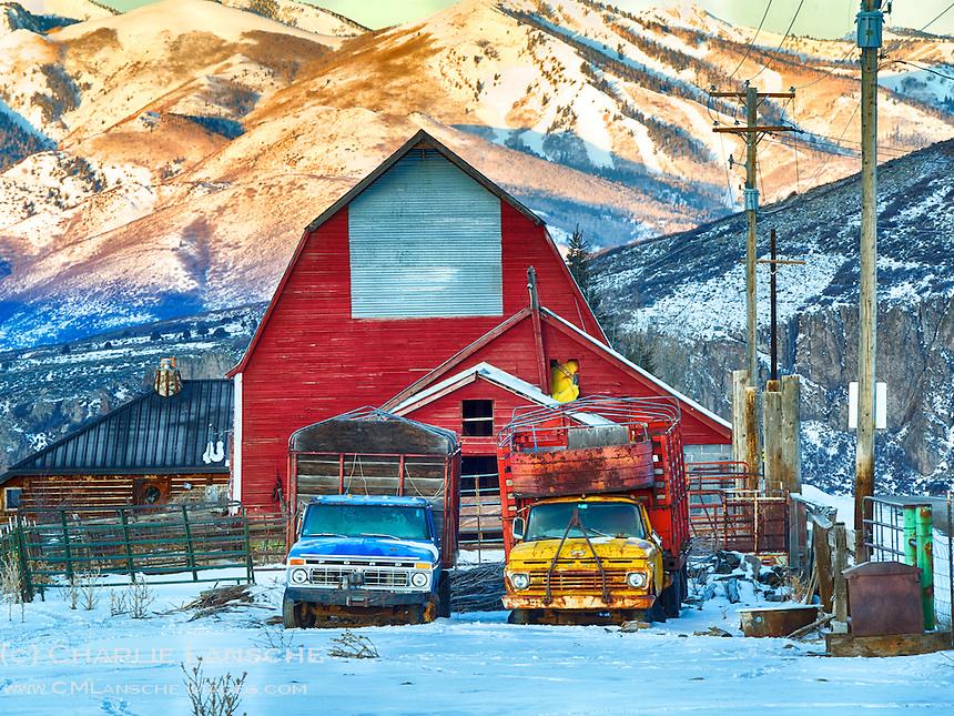 Where ranch and ski country collide.  Summit County, Utah