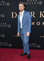 "04 June 2019 - Hollywood, California - James McAvoy. ""Dark Phoenix"" Los Angeles Premiere held at TCL Chinese Theatre. <br /> CAP/ADM/BT<br /> ©BT/ADM/Capital Pictures"