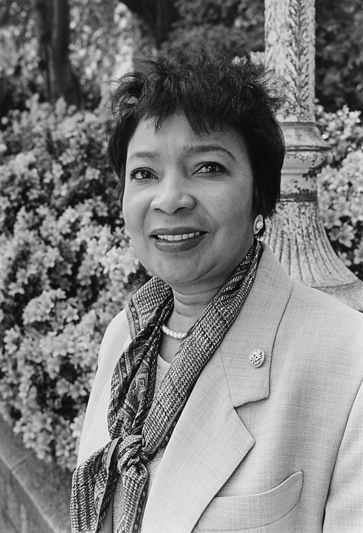 Rep. Eddie Bernice Johnson, D-Tex., on May 09, 1994. (Photo by Chris Martin/CQ Roll Call via Getty Images)
