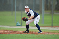 Shane Stossel (88) during the WWBA World Championship at the Roger Dean Complex on October 11, 2019 in Jupiter, Florida.  Shane Stossel attends Bishop Mcdevitt High School in Harrisburg, PA and is committed to Lebanon Valley.  (Mike Janes/Four Seam Images)